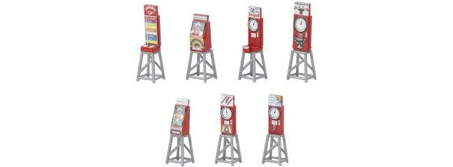FALLER 180946 7 Kirmesautomaten   Bausatz Spur H0