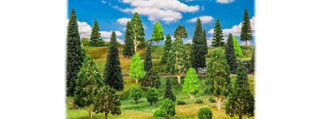 FALLER 181536 Mischwaldbäume sortiert 50 Stück Spur H0