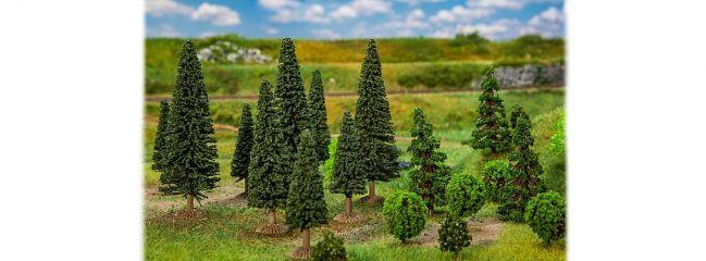 FALLER 181540 Mischwaldbäume klein sortiert 25 Stück Spur H0 und N