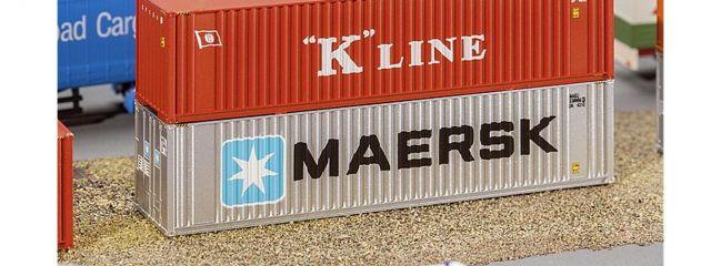 FALLER 272821 40ft Hi-Cube Container MAERSK Fertigmodell 1:160