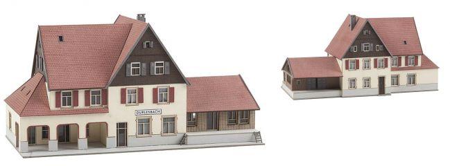 FALLER 282708 Bahnhof Durlesbach LaserCut Bausatz Spur Z