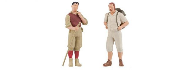 POLA 331887 Wanderer 2 Figuren Fertigmodell 1:22,5
