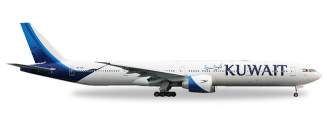 herpa WINGS 530750 Boeing 777-300ER Kuwait Airways new colors Flugzeugmodell 1:500
