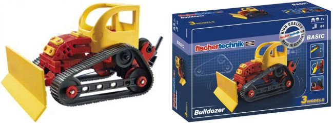 fischertechnik 520395 BASIC Bulldozer   Raupen Bausatz