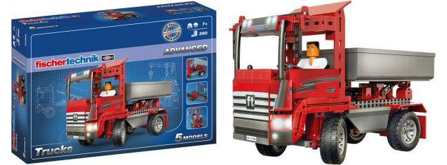 fischertechnik 540582 ADVANCED Trucks | 5 Modelle | ab 7 Jahren