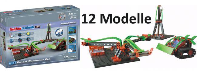 fischertechnik 540586 Robotics BT Smart Beginner Set | 380 Teile | 12 Modelle