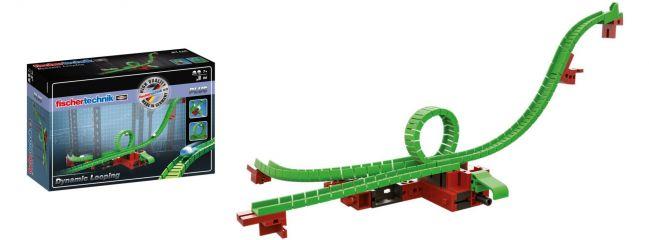 fischertechnik 544620 PLUS Dynamic Loopingweiche Kugelbahn | 50 Teile