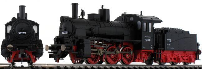 ausverkauft | FLEISCHMANN 412401 Dampflok BR 53.3 DB | DC analog | Spur H0