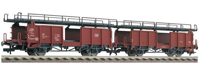 FLEISCHMANN 522401 Zwei Doppelstockwagen für Autotransport Bauart Laaes 541 DB   DC   Spur H0