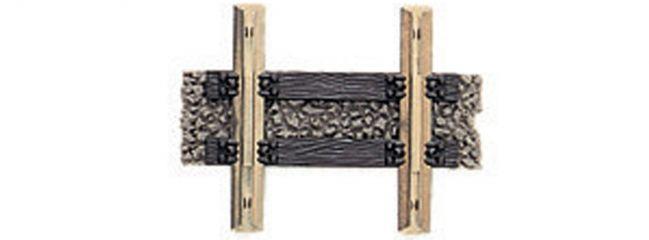 FLEISCHMANN 6107 gerades Gleis | Teilgleis 10 mm | PROFI-Gleis | Spur H0