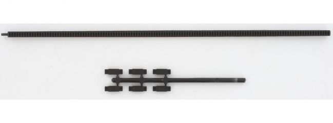 FLEISCHMANN 6412 flexible Zahnstange   200 mm Länge   für PROFI-Gleis   Spur H0