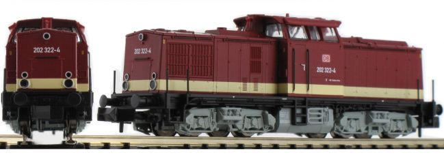 FLEISCHMANN 721012 Diesellok BR 202   DB AG   analog   Spur N