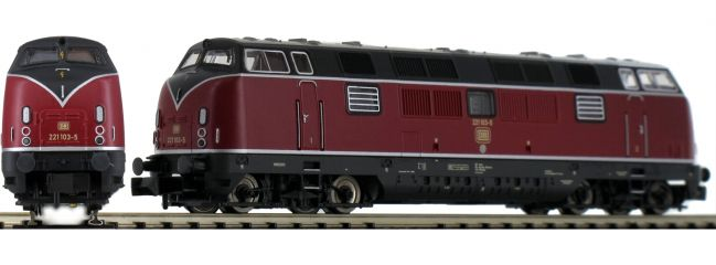 FLEISCHMANN 725079 Diesellok BR 221 DB | DCC Sound | Spur N
