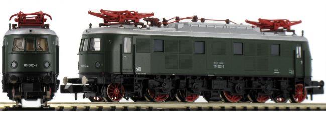 FLEISCHMANN 731904 E-Lok BR 119 002-4 grün DB   DC analog   Spur N