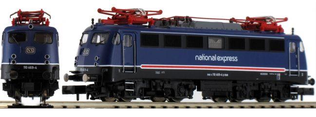 FLEISCHMANN 733675 E-Lok BR 110 469-4 NX Rail | DCC-Sound | Spur N