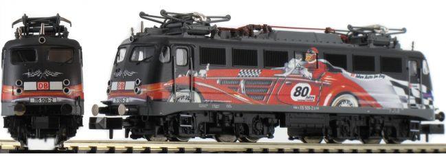 FLEISCHMANN 733806 E-Lok BR 115 DB AG | 80 Jahre Autozug | DC analog | Spur N