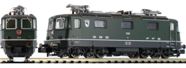 FLEISCHMANN 734010 E-Lok Re 4/4 Porrentruy | SBB | analog | Spur N