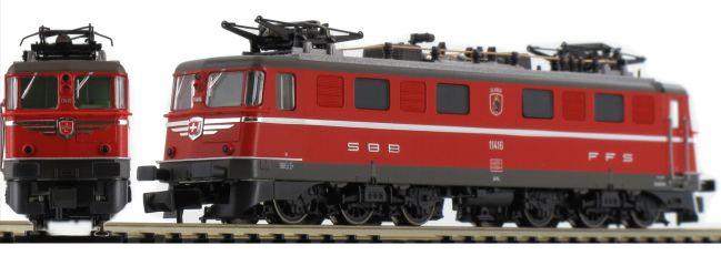 FLEISCHMANN 737293 E-Lok Ae 6/6 Kantonslok SBB | DCC-Sound | Spur N