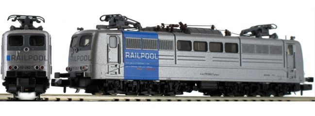 FLEISCHMANN 738092 E-Lok BR 151 Railpool | DCC-Sound | Spur N