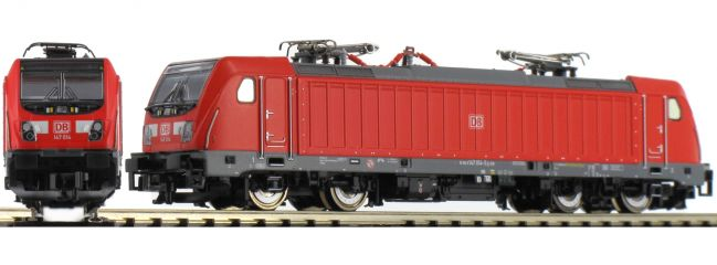 FLEISCHMANN 739001 E-Lok BR 147 DB AG | DC analog | Spur N