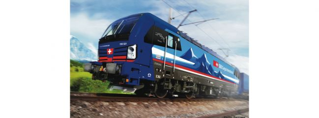FLEISCHMANN 739319 E-Lok BR 193 521-2 SBB Cargo Int. | analog | Spur N