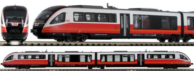 FLEISCHMANN 742206 Dieseltriebzug Rh 5022 Cityjet ÖBB | DC analog | Spur N