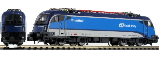 FLEISCHMANN 781803 E-Lok Rh 1216 Railjet CD | DC analog | Spur N