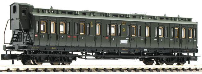 FLEISCHMANN 804204 Abteilwagen 2./3. Klasse Bauart BC pr04 | DRG | DC | Spur N