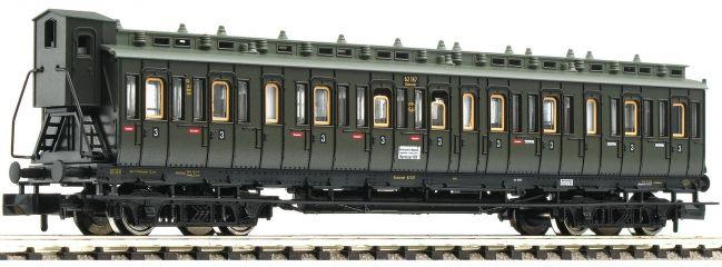 FLEISCHMANN 804305 Abteilwagen 3. Kl. Bauart C4 pr04 | DRG | DC | Spur N