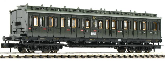 FLEISCHMANN 804402 Abteilwagen 3. Kl. Bauart C4tr pr04 | DRG | DC | Spur N