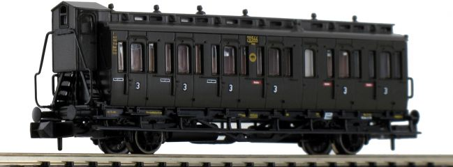FLEISCHMANN 807104 Abteilwagen 3.Kl. DRG | Spur N