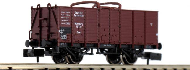 FLEISCHMANN 826002 Offener Güterwagen Bauart Ovw Würzburg DRG | Spur N
