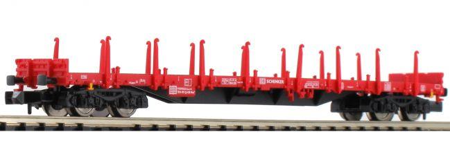 FLEISCHMANN 828709 Flachwagen Bauart Res DB AG | DC | Spur N