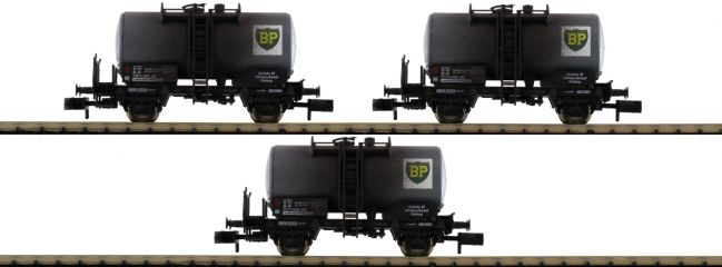 "FLEISCHMANN 841201 Kesselwagenset ""BP"" DB | 3-teilig | DC | Spur N"