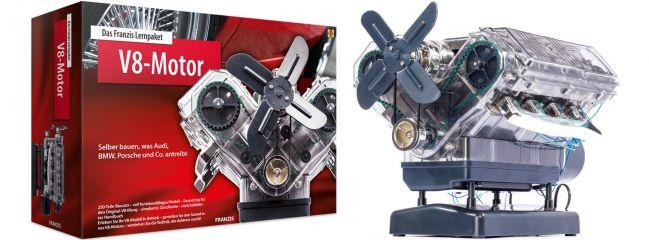 Franzis 65207 Lernpaket V8-Motor   Funktionsmodell Bausatz