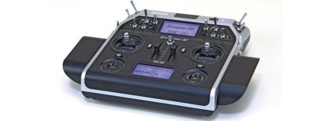 ausverkauft | Graupner 33020 MC-20 Computersystem HoTT | 12-Kanal Fernsteuerung