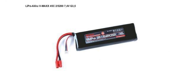 Graupner 97522 LiPo-Akku V-MAXX 45C2/5200 7,4 V G3,5