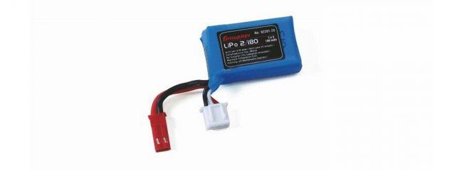 ausverkauft | Graupner 92201.20 Ersatzbatterie LiPo | 7,4 Volt | 180 mAh |