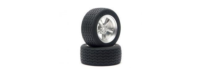 HPI 4793 Vintage Racing Reifen Typ Retro | 26 mm | 2 Stück | für TW 1:10