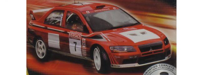 Heller 50734 Kit 6 Mitsubishi WRC '01 Set Auto Bausatz 1:24