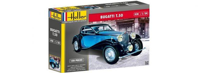 Heller 80706 Bugatti T 50 | Auto Bausatz 1:24