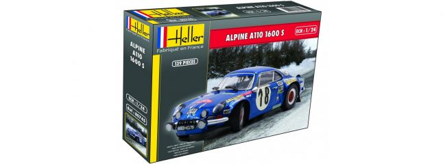 Heller 80745 Renault Alpine A110 1600 S | Auto Bausatz 1:24