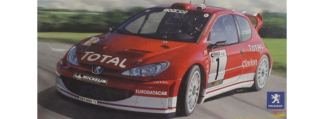 Heller 80752 Peugeot 206 WRC '03 Auto Bausatz 1:24