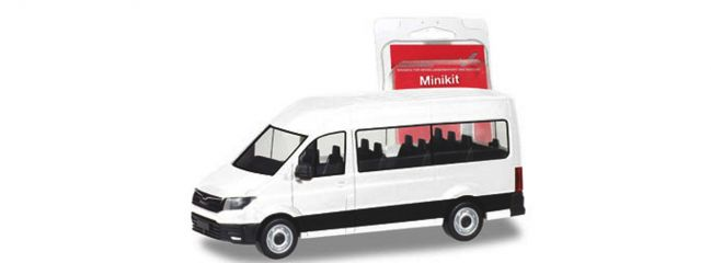 herpa 012935 MiniKit MAN TGE Bus weiss Bausatz 1:87