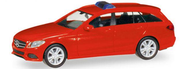 herpa 013284 MiKi MB C-Klasse T-Modell rot | Bausatz 1:87