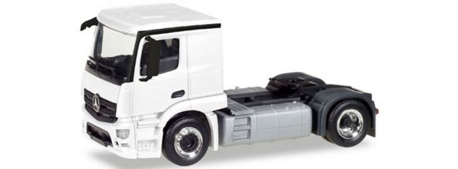 herpa 013291 MiKi MB Actros Classicspace Zgm weiss | Bausatz 1:87