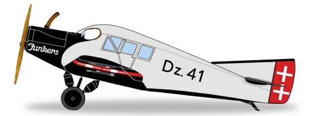 herpa WINGS 019361 Junkers F13 Danziger Luftpost Flugzeugmodell 1:87