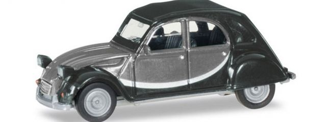 herpa 020817-005 Citroen 2CV Charleston grau Automodell 1:87