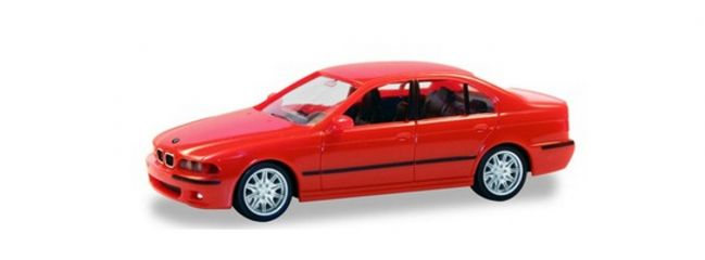 herpa 022644-002 BMW M5 E39 rot Automodell Spur H0
