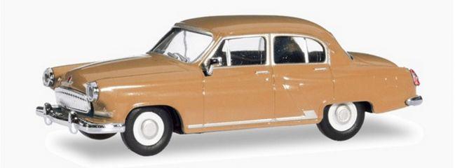 herpa 023283-004 Wolga M21 braunbeige Automodell 1:87
